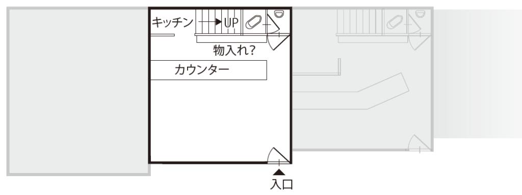 空き店舗③上富田 B-②