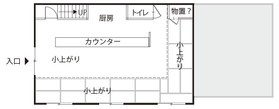 空き店舗②上富田 B-①