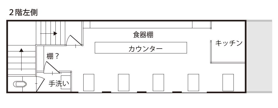 空き店舗⑩上富田③