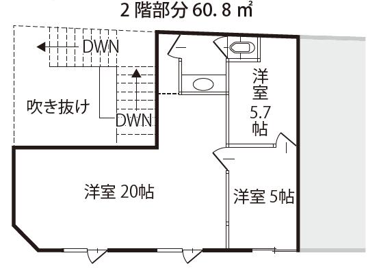 空き店舗⑤上富田C-①-2F